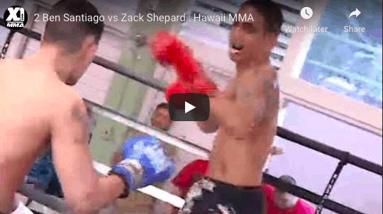 2 Ben Santiago vs Zack Shepard Hawaii MMA