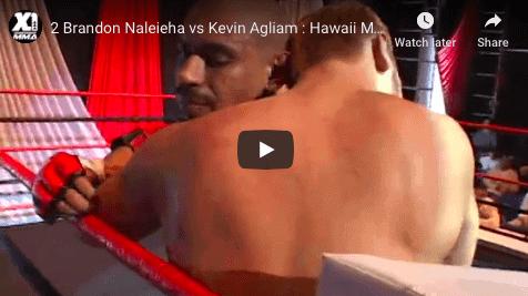 2 Brandon Naleieha vs Kevin Agliam : Hawaii MMA