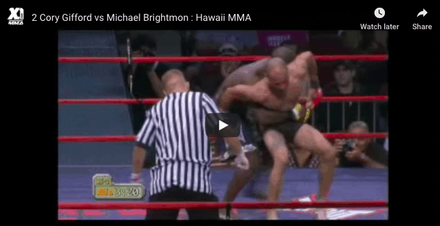 2 Cory Gifford vs Michael Brightmo
