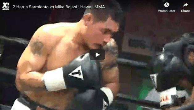 2 Harris Sarmiento vs Mike Balasi : Hawaii MMA