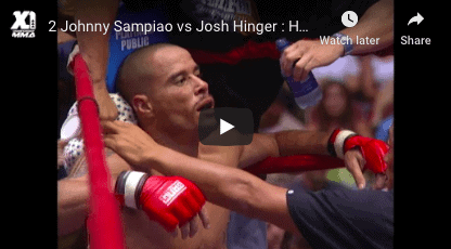Johnny Sampiao vs Josh Hinger