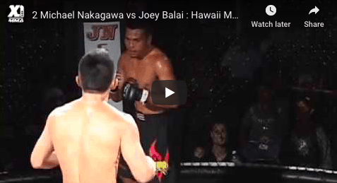 2 Michael Nakagawa vs Joey Balai Hawaii MMA