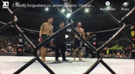 2 Sandy Aviguetero vs Jeremy Harris : Hawaii MMA