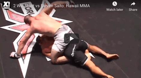 2 Will Shutt vs Steven Saito: Hawaii MMA