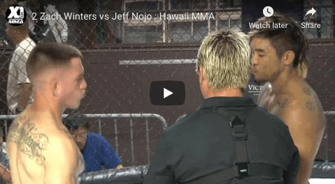 2 Zach Winters vs Jeff Nojo : Hawaii MMA