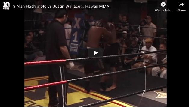3 Alan Hashimoto vs Justin Wallace : Hawaii MMA