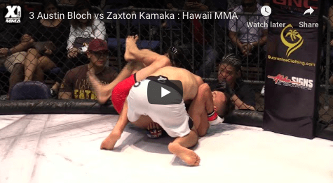 3 Austin Bloch vs Zaxton Kamaka : Hawaii MMA