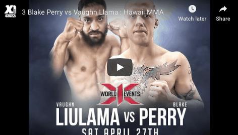 3 Blake Perry vs Vaughn Llama : Hawaii MMA