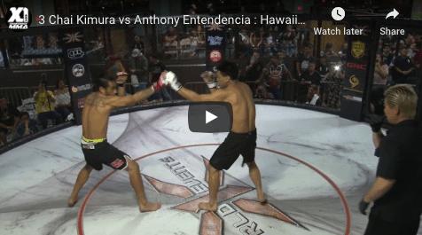 3 Chai Kimura vs Anthony Entendencia : Hawaii MMA