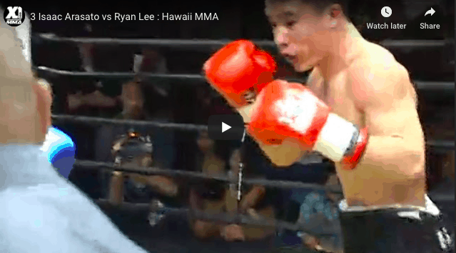 3 Isaac Arasato vs Ryan Lee : Hawaii MMA