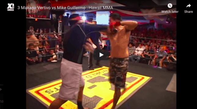 3 Makana Vertivo vs Mike Guillermo : Hawaii MMA