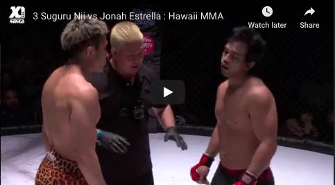 3 Suguru Nii vs Jonah Estrella : Hawaii MMA