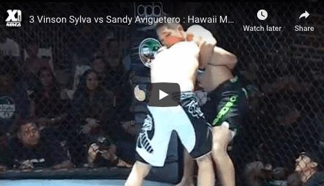 3 Vinson Sylva vs Sandy Aviguetero : Hawaii MMA