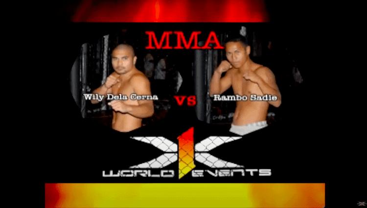 3 Wily Dela Cerna vs Rambo Sadie Hawaii MMA
