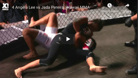 4 Angela Lee vs Jada Pereira : Hawaii MMA