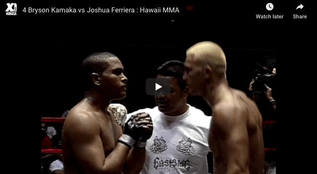 4 Bryson Kamaka vs Joshua Ferriera Hawaii MMA