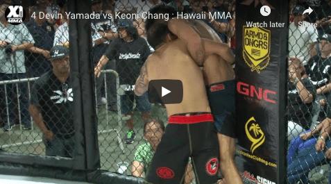 4 Devin Yamada vs Keoni Chang : Hawaii MMA