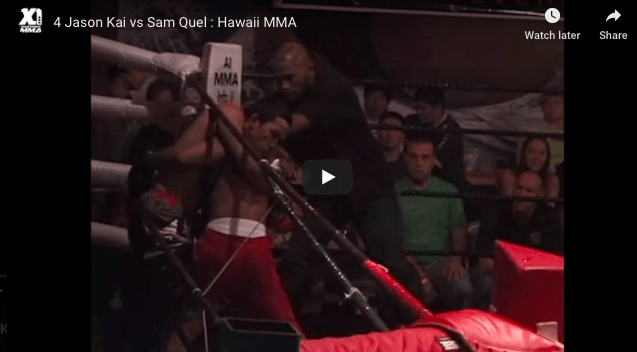 4 Jason Kai vs Sam Quel : Hawaii MMA