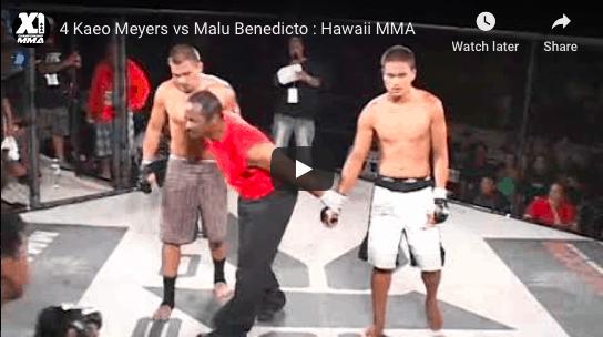 4 Kaeo Meyers vs Malu Benedicto : Hawaii MMA