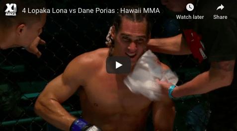 4 Lopaka Lona vs Dane Porias : Hawaii MMA