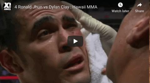 4 Ronald Jhun vs Dylan Clay : Hawaii MMA