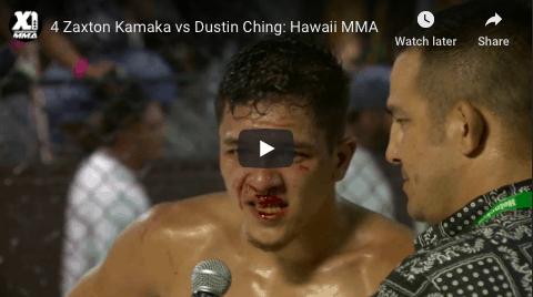 4 Zaxton Kamaka vs Dustin Ching: Hawaii MMA