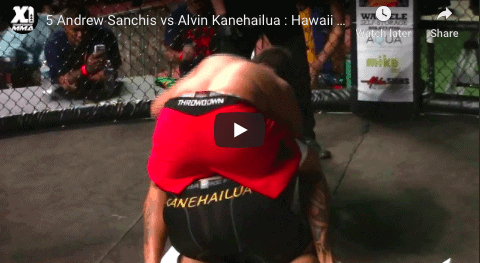 5 Andrew Sanchis vs Alvin Kanehailua : Hawaii MMA