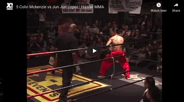 5 Colin Mckenzie vs Jun Jun Lopez : Hawaii MMA
