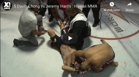5 Davin Chong vs Jeremy Harris : Hawaii MMA