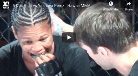 5 Des Vida vs Yasnaya Perez : Hawaii MMA