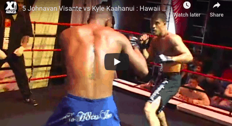5 Johnavan Visante vs Kyle Kaahanui : Hawaii MMA