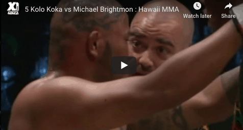 5 Kolo Koka vs Michael Brightmon : Hawaii MMA
