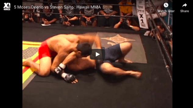 5 Moses Deerio vs Steven Saito : Hawaii MMA