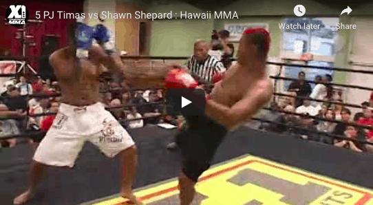 5 PJ Timas vs Shawn Shepard : Hawaii MMA