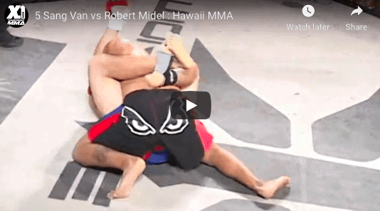 5 Sang Van vs Robert Midel : Hawaii MMA