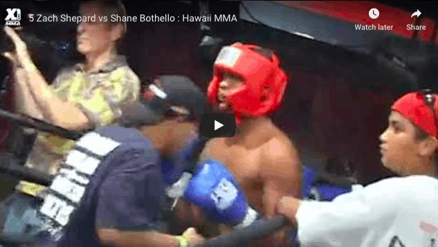 5 Zach Shepard vs Shane Bothello : Hawaii MMA