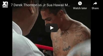 6 Derek Thornton vs Jr Sua