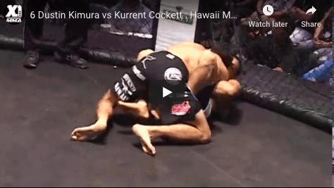 6 Dustin Kimura vs Kurrent Cockett : Hawaii MMA