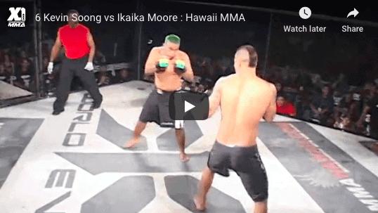 6 Kevin Soong vs Ikaika Moore : Hawaii MMA
