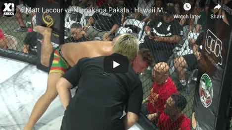 6 Matt Lacour vs Namakana Pakala : Hawaii MMA
