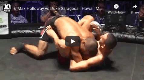 6 Max Holloway vs Duke Saragosa : Hawaii MMA