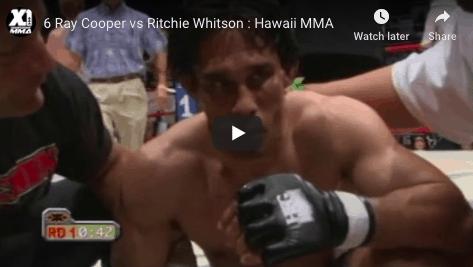 6 Ray Cooper vs Ritchie Whitson : Hawaii MMA