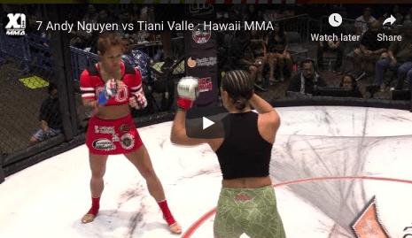 7 Andy Nguyen vs Tiani Valle : Hawaii MMA
