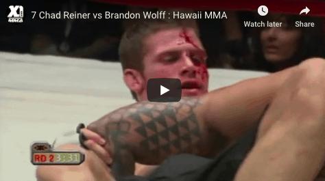 7 Chad Reiner vs Brandon Wolff Hawaii MMA