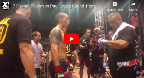 7 Flavian Pilgrim vs Paul Lopes Round 1 only : Hawaii MMA
