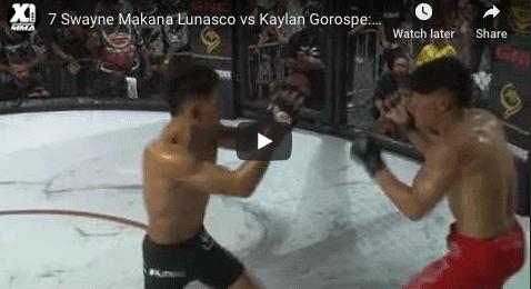 7 Swayne Makana Lunasco vs Kaylan Gorospe: Hawaii MMA