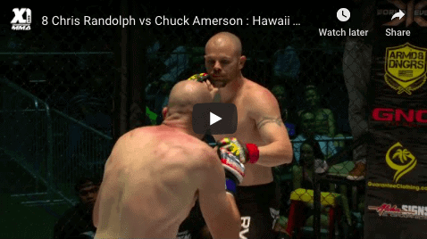 8 Chris Randolph vs Chuck Amerson Hawaii MMA