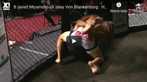 8 Jared Miyamoto vs Joey Von Blankenburg : Hawaii MMA