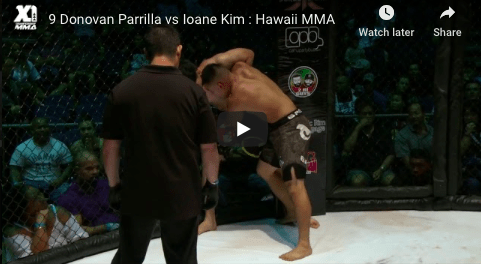 9 Donovan Parrilla vs Ioane Kim : Hawaii MMA