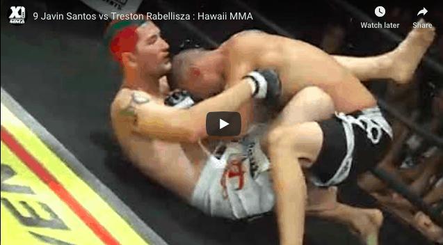 9 Javin Santos vs Treston Rabellisza : Hawaii MMA